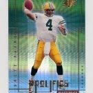 2000 SPx Prolifics #P8 Brett Favre - Green Bay Packers
