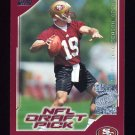 2000 Topps Season Opener Football #204 Giovanni Carmazzi RC - San Francisco 49ers