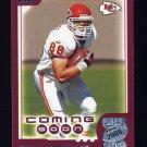 2000 Topps Season Opener Football #191 Tony Gonzalez - Kansas City Chiefs