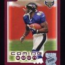 2000 Topps Season Opener Football #188 Shannon Sharpe - Baltimore Ravens