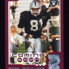 2000 Topps Season Opener Football #184 Tim Brown - Oakland Raiders