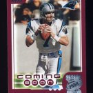 2000 Topps Season Opener Football #183 Steve Beuerlein - Carolina Panthers