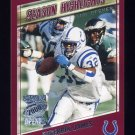 2000 Topps Season Opener Football #180 Edgerrin James - Indianapolis Colts