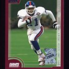 2000 Topps Season Opener Football #173 Tiki Barber - New York Giants