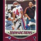2000 Topps Season Opener Football #164 Shawn Jefferson - Atlanta Falcons