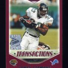 2000 Topps Season Opener Football #158 James Stewart - Detroit Lions