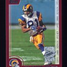2000 Topps Season Opener Football #145 Az-Zahir Hakim - St. Louis Rams
