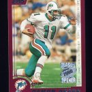 2000 Topps Season Opener Football #122 Damon Huard - Miami Dolphins