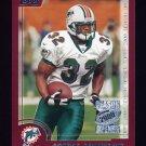 2000 Topps Season Opener Football #114 James Johnson - Miami Dolphins