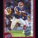 2000 Topps Season Opener Football #103 Antowain Smith - Buffalo Bills