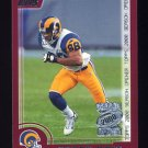 2000 Topps Season Opener Football #100 Torry Holt - St. Louis Rams