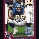 2000 Topps Season Opener Football #095 Freddie Jones - San Diego Chargers