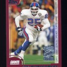 2000 Topps Season Opener Football #093 Joe Montgomery - New York Giants