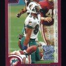 2000 Topps Season Opener Football #079 Oronde Gadsden - Miami Dolphins
