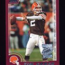 2000 Topps Season Opener Football #029 Tim Couch - Cleveland Browns