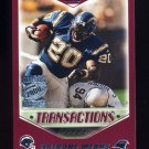 2000 Topps Season Opener Football #026 Natrone Means - Carolina Panthers