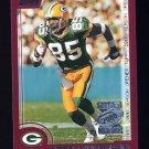 2000 Topps Season Opener Football #021 Corey Bradford - Green Bay Packers