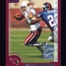 2000 Topps Season Opener Football #013 David Boston - Arizona Cardinals