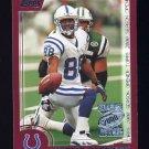2000 Topps Season Opener Football #012 Marvin Harrison - Indianapolis Colts