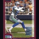2000 Topps Season Opener Football #005 Sean Dawkins - Seattle Seahawks