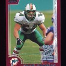 2000 Topps Season Opener Football #003 Zach Thomas - Miami Dolphins