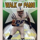 2000 Topps Stars Walk Of Fame #W7 Marvin Harrison - Indianapolis Colts