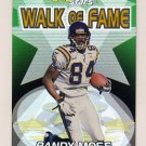 2000 Topps Stars Walk Of Fame #W1 Randy Moss - Minnesota Vikings