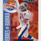 2000 Topps Stars Football #137 Steve Beuerlein - Carolina Panthers