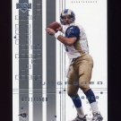 2000 UD Graded Football #071 Kurt Warner - St. Louis Rams 0231/1500