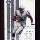 2000 UD Graded Football #034 Edgerrin James - Indianapolis Colts 0287/1500