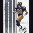 2000 UD Graded Football #070 Torry Holt - St. Louis Rams 0053/1500