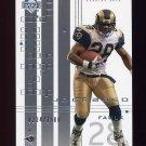 2000 UD Graded Football #068 Marshall Faulk - St. Louis Rams 0224/1500