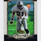 2000 UD Ionix Majestix #M11 Tim Brown - Oakland Raiders