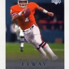 2000 Upper Deck Legends Football #020 John Elway - Denver Broncos