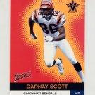 2000 Vanguard Gold #010 Darnay Scott - Cincinnati Bengals 112/122