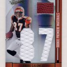 2008 Absolute Memorabilia RPM Oversize Jersey Number #272 Andre Caldwell - Game-Used Jersey/100