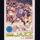 1977-78 Topps Basketball #123 E.C. Coleman - New Orleans Jazz