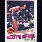 1977-78 Topps Basketball #116 Steve Mix - Philadelphia 76ers