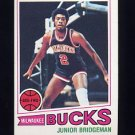 1977-78 Topps Basketball #114 Junior Bridgeman - Milwaukee Bucks