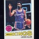1977-78 Topps Basketball #087 Lucius Allen - Kansas City Kings