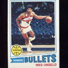 1977-78 Topps Basketball #075 Wes Unseld - Washington Bullets