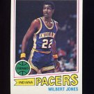 1977-78 Topps Basketball #063 Wilbert Jones - Indiana Pacers
