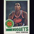 1977-78 Topps Basketball #060 David Thompson - Denver Nuggets