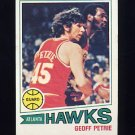 1977-78 Topps Basketball #046 Geoff Petrie - Atlanta Hawks