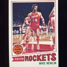 1977-78 Topps Basketball #037 Mike Newlin - Houston Rockets