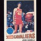 1977-78 Topps Basketball #031 John Gianelli - Cleveland Cavaliers Ex