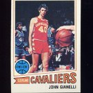 1977-78 Topps Basketball #031 John Gianelli - Cleveland Cavaliers NM-M
