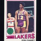 1977-78 Topps Basketball #027 Don Chaney - Los Angeles Lakers