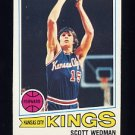 1977-78 Topps Basketball #017 Scott Wedman - Kansas City Kings