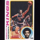 1978-79 Topps Basketball #121 Richard Washington - Kansas City Kings